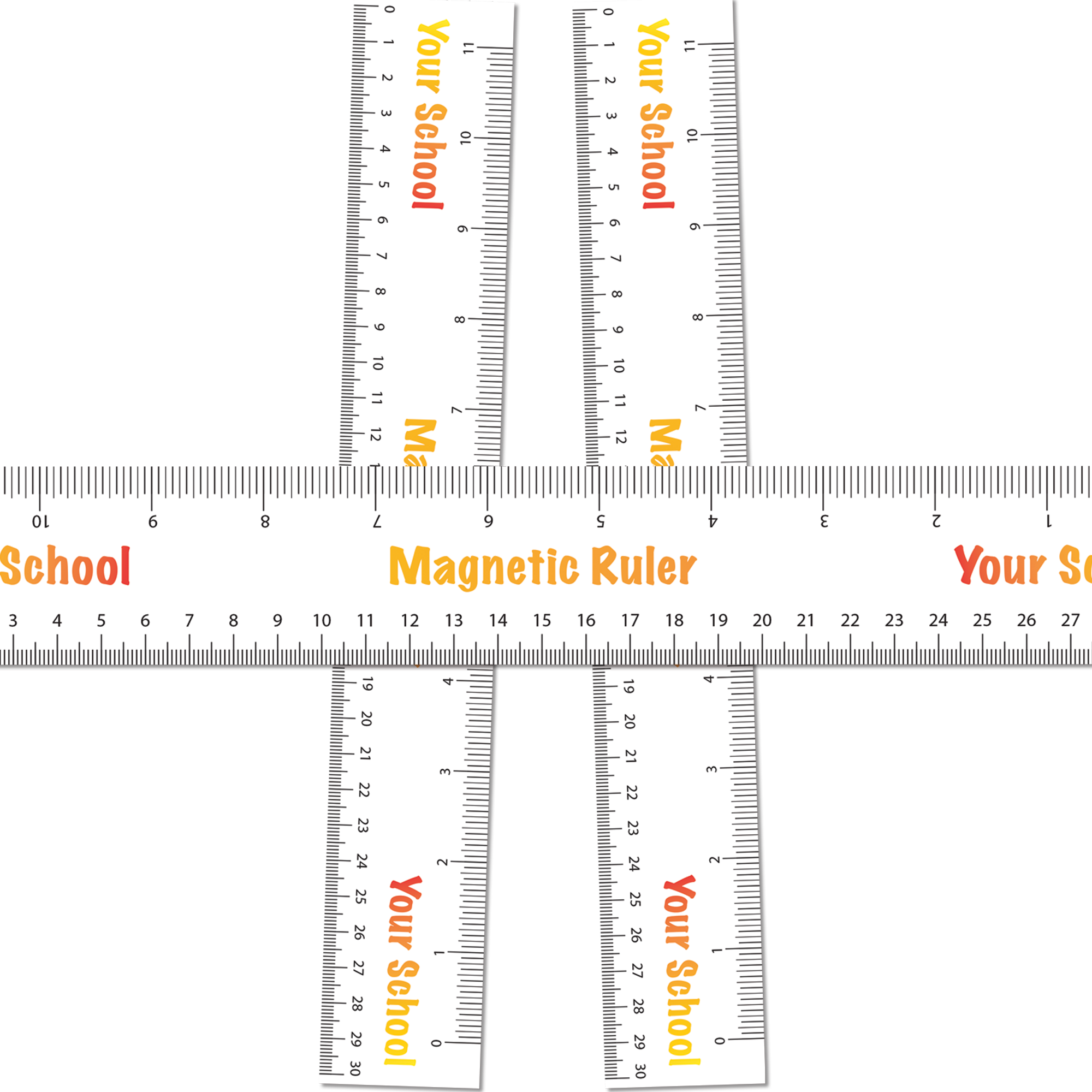 Magnetic Rulers